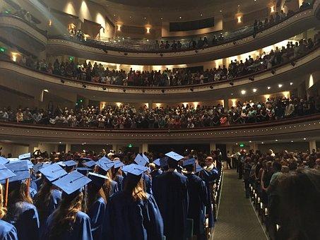 Graduation, Graduation Cap, Achievement, School
