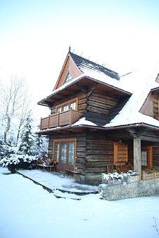 House, Buried, Style, Zakopane Style
