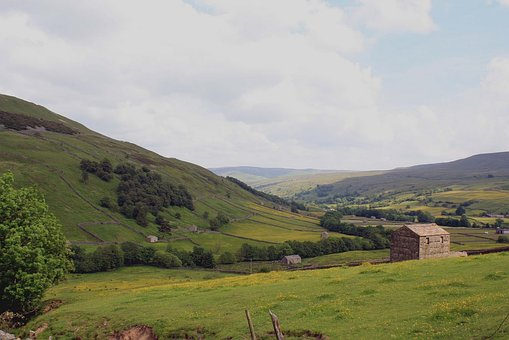 Lost Places, Yorkshire Dales, Swaledale, England