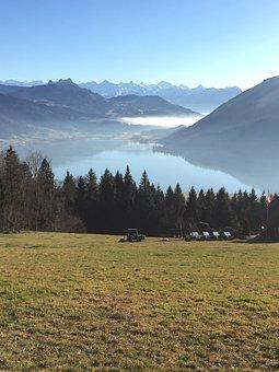 Alpine, Panorama, Mountains, Landscape, Nature