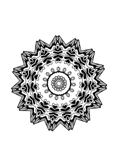 Mandala, Design, Drawing, Coloring Page, Pattern