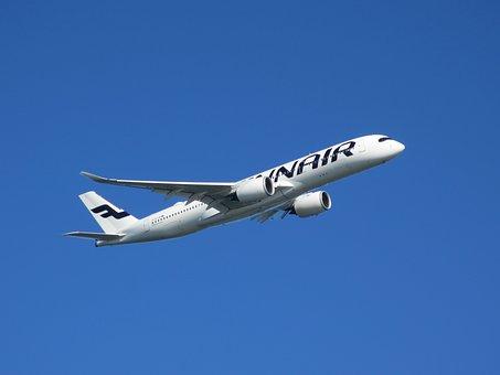 Airbus, The A350, Finnair, Aircraft, Airplane