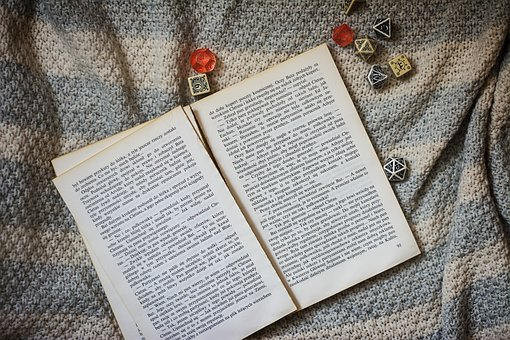 The Bones, Dice For Games, Blanket, Book, Old Book, Old