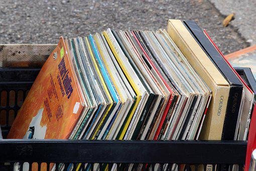 Vinyl, Disk, Vinyl Disc, Music, Flea Market