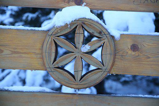 Buried, Wood, The Art Of, The Decor, Winter