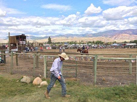 Cowboy, Rodeo, Winthrop, Western, Wild, West, American