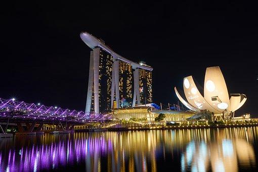 Singapore, Luxury, Asian, Magnificent, Architecture