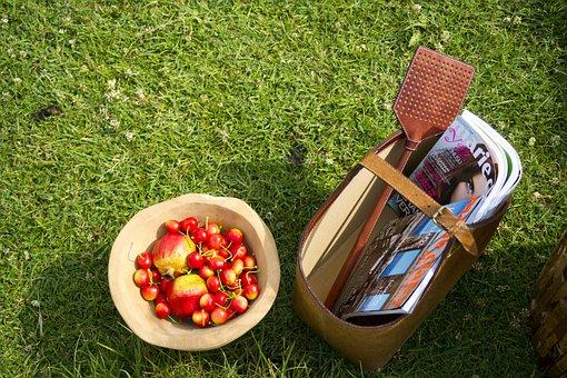 Garden, Basket, Fruit, Breakfast, Holiday, Food
