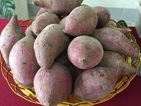 Potato, Lang, Binh Tan, Purple Sweet Potato Japanese
