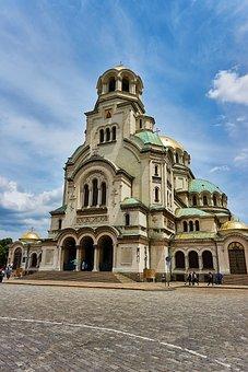 Sofia, Bulgaria, Cathedral, Church, Orthodox
