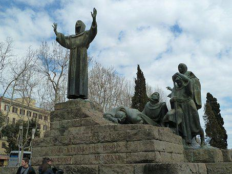 Rome, St Francis Of Assisi, Franciscan