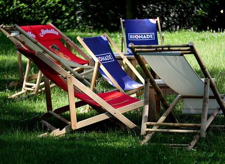 Garden Bed, Chill Out, Garden, Rush, Park, Outdoor