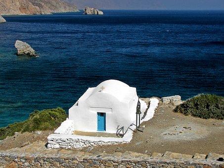 Chapel, Amorgos, Cyclades, Hellas, Greece