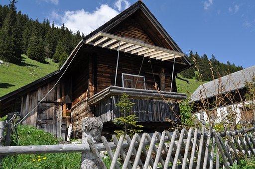 Alm, Switzerland, Mountains, Alpine, Mountain Farm