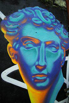 Pictures, Paint, Blue, Color Image, No People, Macro