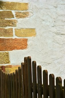 Fence, Wood Fence, Paling, Wall, Boards, Garden Fence