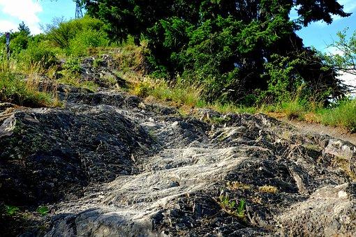 Rise, Rock, Nature, Away, Landscape, Path, Steep
