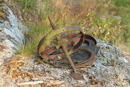 Rusty, Debris, Scrap Iron, Bargain