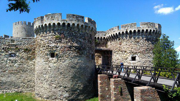 Castle, Serbia, Date, Ancient, The Remains Of