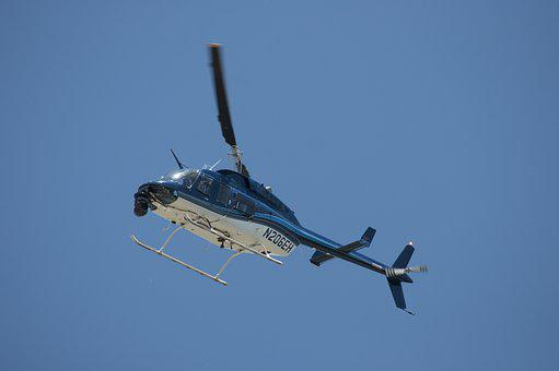 Helicopter, Sky, Fly, Aerial, Air, Aircraft, Flight