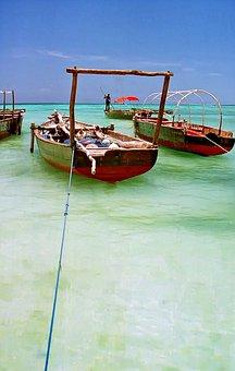Caribbean, Boat, Ocean, Vacation, Sea, Transport