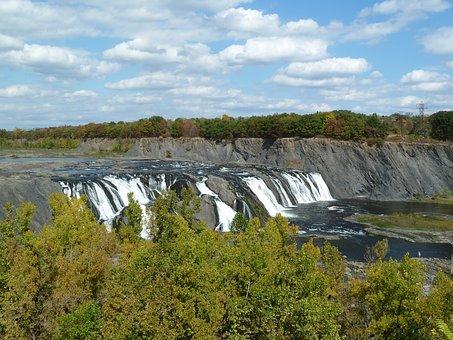 Waterfall, Nature, Albany