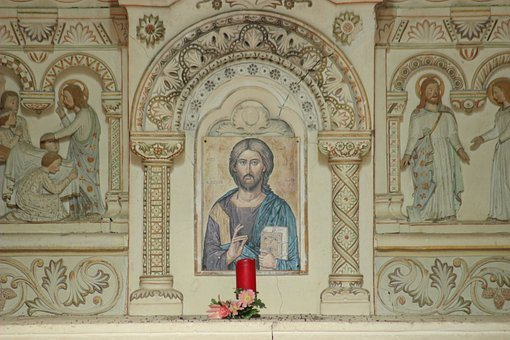 Christ, Altar, Chapel, Choir, Fathers Of Betharram