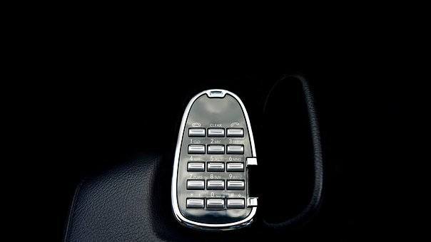 Mercedes, Telephone, Key Pad, S Class, Car, Auto