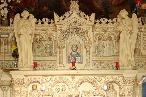 Christ, Altar, Chapel, Choir, The Fathers Of Bétharram