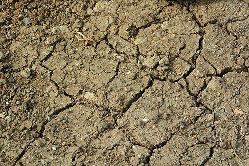 Cracked Earth, Drought, Dry Soil, The Dry Ground