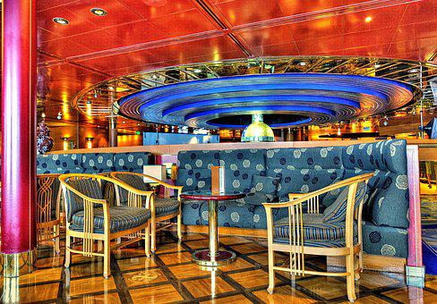 Table And Chairs, Cruise Ship, Cruise, Relaxation, Ship
