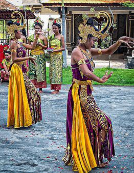 Bali, Dancers, Costume, Performance, Dance, Traditional