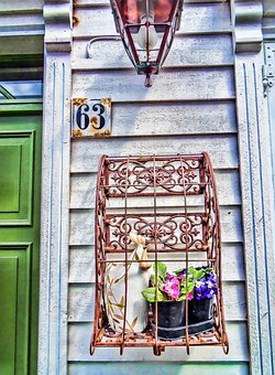Norway, Decorative, Door Display, Lamp, Scandinavian