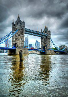 Britain, Travel, City, England, Landmark, Tower, Thames