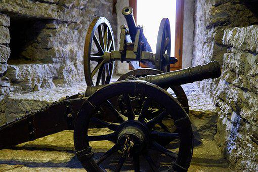 Estonia, Tallinn, Reval, Historically, Old Town, Gun