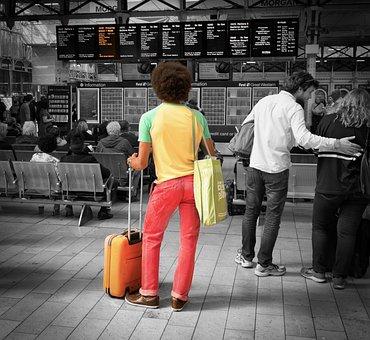 Railway, Travel, Journey, Platform, Passenger, Traffic