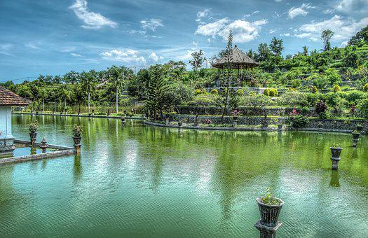 Water Gardens, Bali, Kings Water Garden, Indonesia