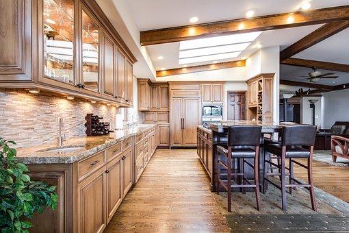 Kitchen, Dining, Interior, Home, Room, Design, Modern