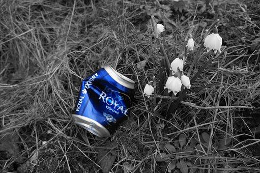 Beer, Canned, Natural, Garbage