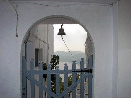 Milos, Cyclades, Portal, Bell, Odysseus, Greece, Hellas