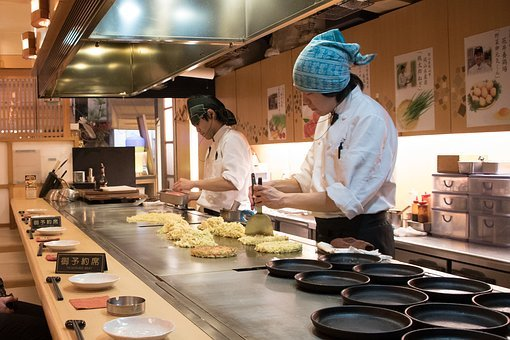 Okonomiyaki, Japanese, Japan, Food, Asian, Cuisine