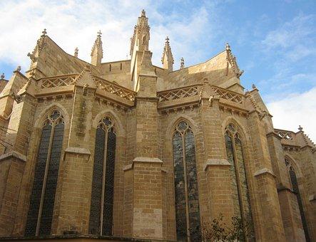 Cathedral, Building, Palma De Mallorca, Architecture