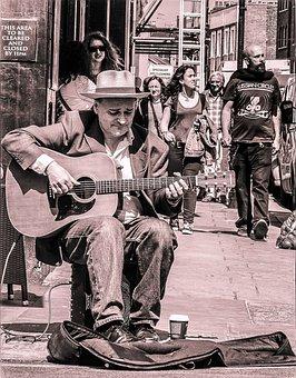 Street Player, Music, Musician, Performer, Adult