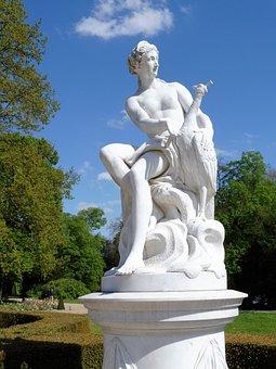 Sculpture, Park, Rock Carving, Potsdam, Park Sanssouci