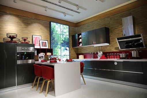 Indoor, Sample Room, Kitchen