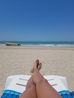 Beach, Feet, Summer, Sand, Sea, Vacation, Foot, Ocean