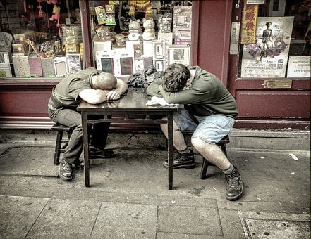 Winks, Sleeping, Snooze, Sleep, Slumber, Worker, Work