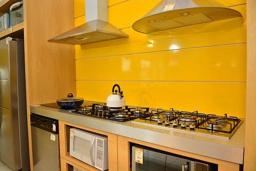 Kitchen, Burner, Yellow
