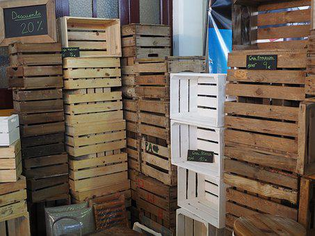 Box, Storage, Wood, Pallet, Fruit