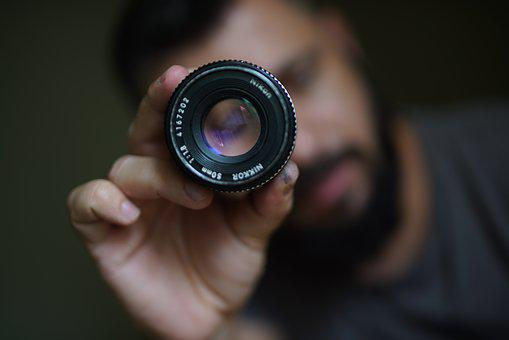 Lens, Camera, 50 Mm, Photographic, Former